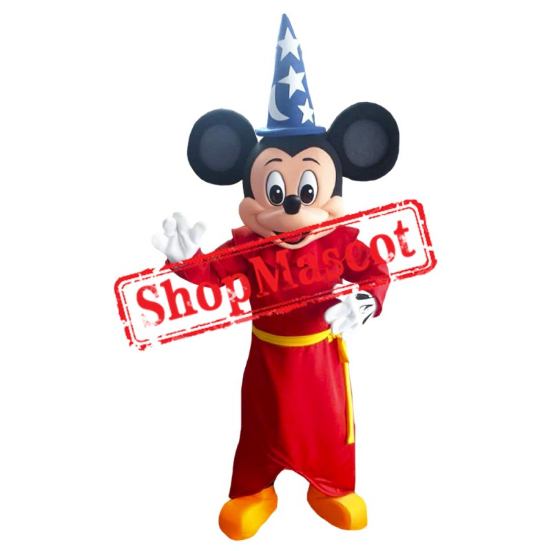 Mouse Clubhouse Magic Mouse Mickey Mascot Costume