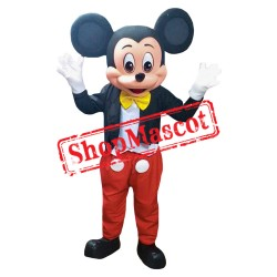 Mouse Clubhouse Regular Mr. Mouse Mickey Mascot Costume