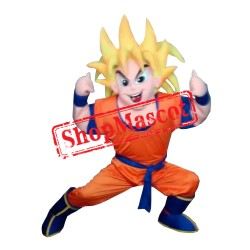 Goku Dragon Ball Mascot Costume