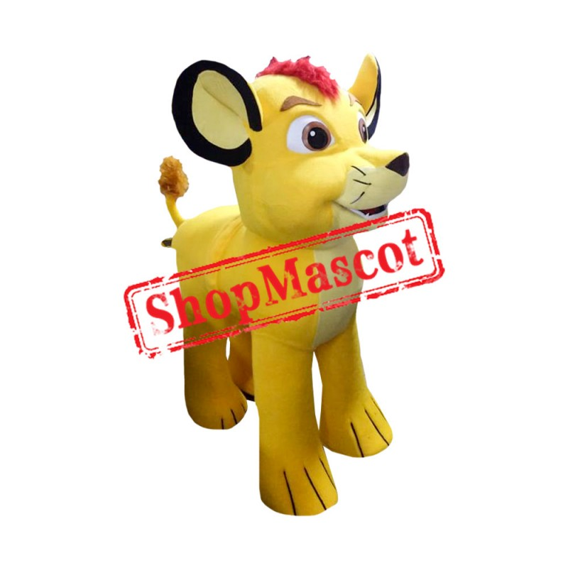 Lion King Costume Simba 3 Mascot Costume