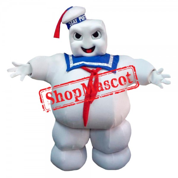 Stay Puft Marshmallow Man Ghostbusters Mascot Costume