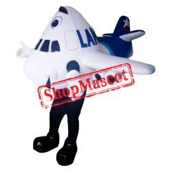 LAN Airplane Mascot Costume