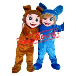 Nursery Rhymes Dave Ava Mascot Costume