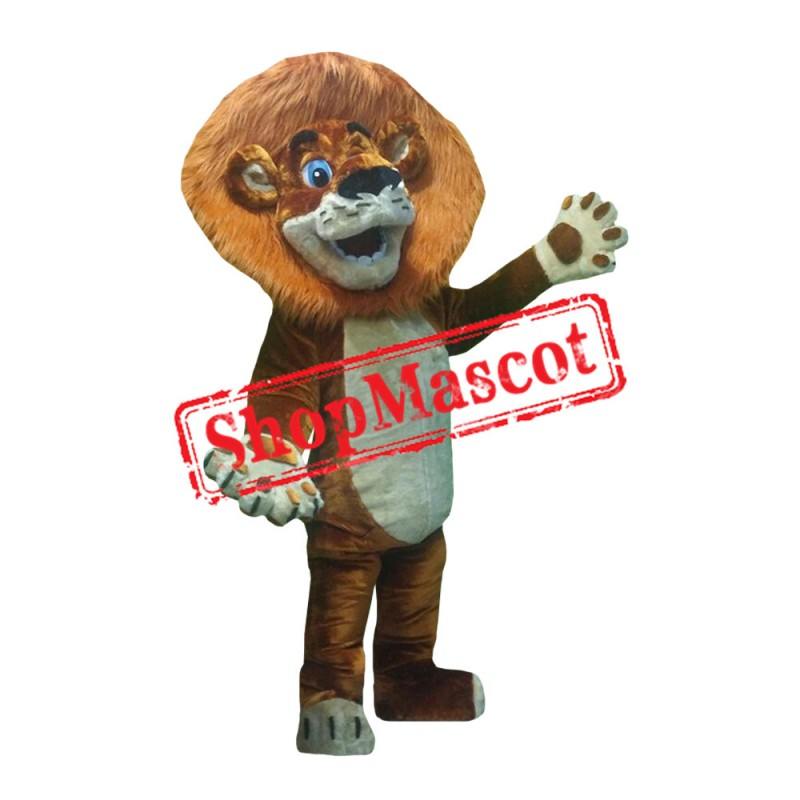 Madagascar Lion 1 Mascot Costume
