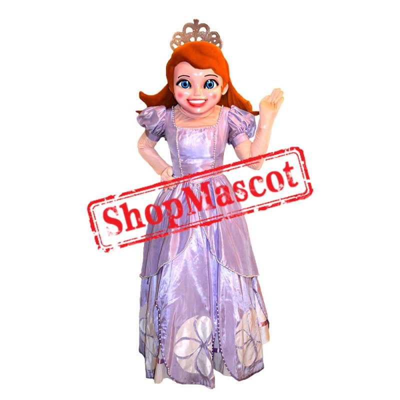 Sofia The First Princess Sofia Mascot Costume