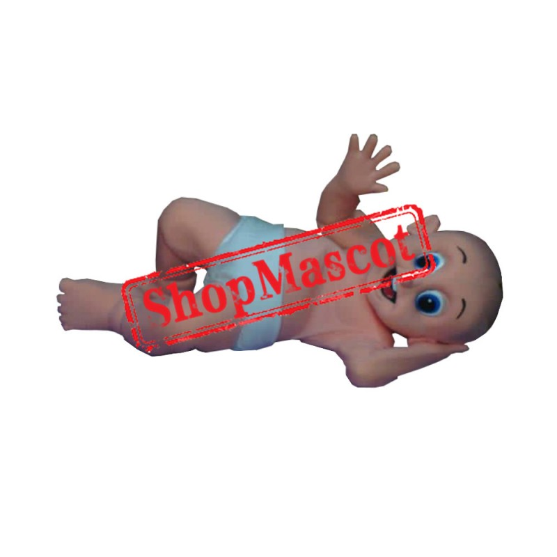 Baby Diapers Mascot Costume