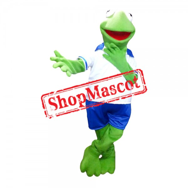 The Muppets Show Baby Kermit The Frog Mascot Costume