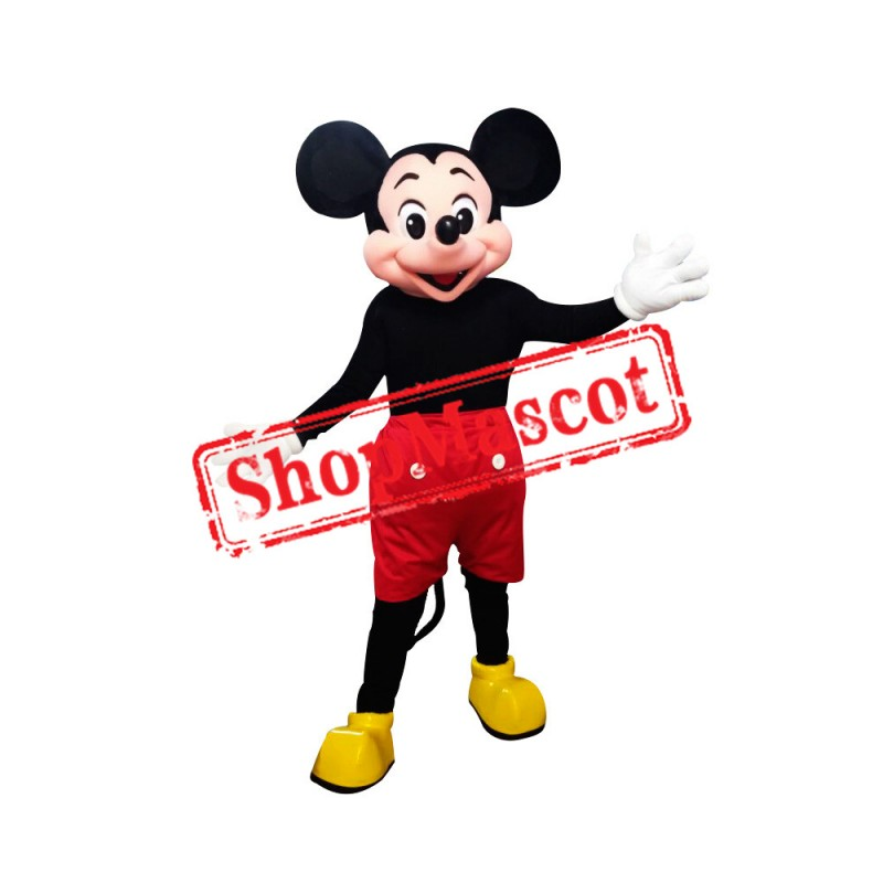 Clubhouse Mouse Micky Mascot Costume