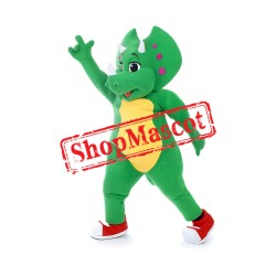 Green Rhinoceros Mascot Costume