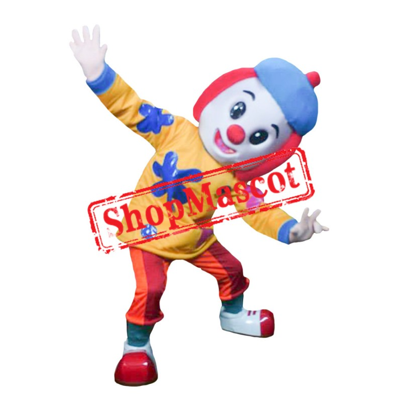 Jojo Tickle Clown Mascot Costume