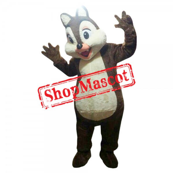 Mouse Clubhouse Chipmunks Dale Mascot Costume