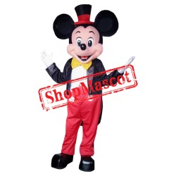 Mouse Clubhouse Deluxe Mickey Mouse Mascot Costume