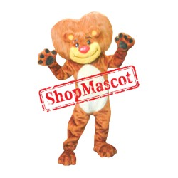 Goliath The Lion Mascot Costume