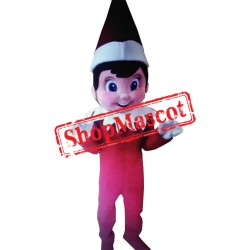 Elf on the Shelf 1 Mascot Costume