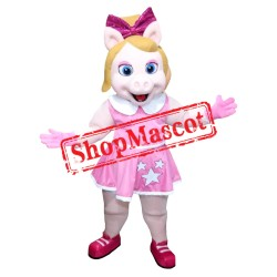 The Muppets Show Baby Miss Piggy Mascot Costume