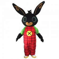 Cartoon Bunny Mascot Costume Bing Rabbit Mascot Costume