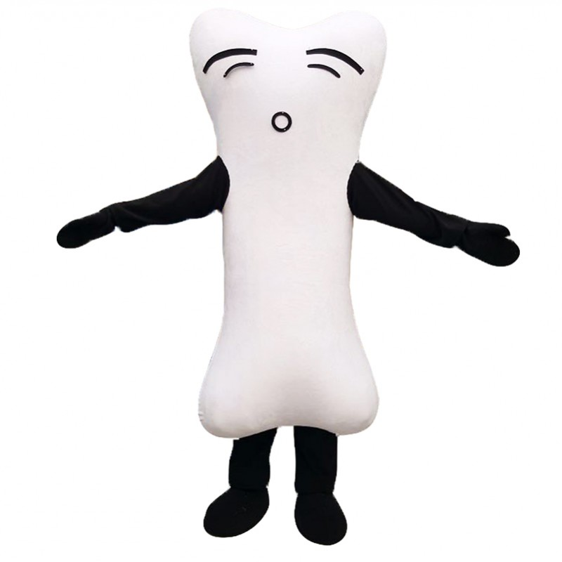 Bone Mascot Costumes Free Shipping