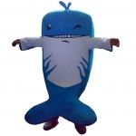 Blue Dolphin Mascot Costumes Free Shipping