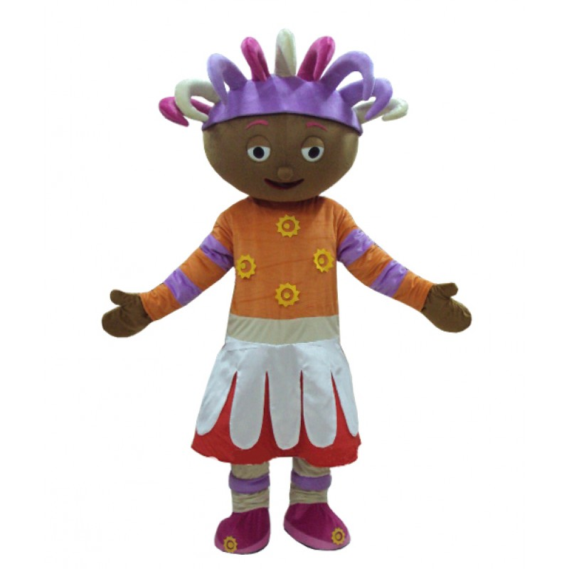 High Quality Upsy Daisy Mascot Costume