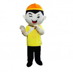 Chinese Boy Mascot Costumes Free Shipping