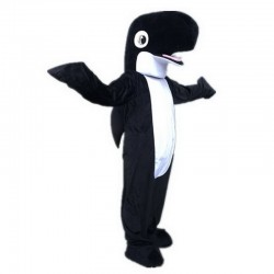 Black Shark Mascot Costumes Free Shipping