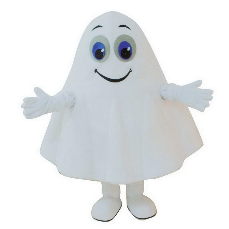 White Ghost Mascot Costumes Free Shipping