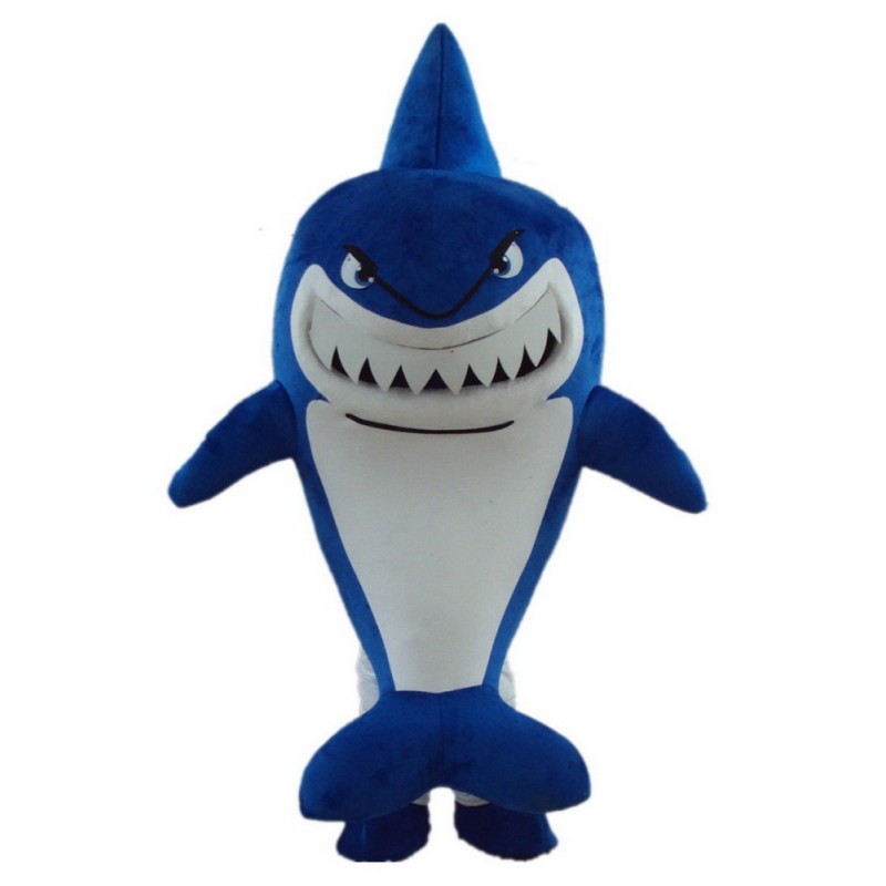 Blue Shark Mascot Costumes Free Shipping