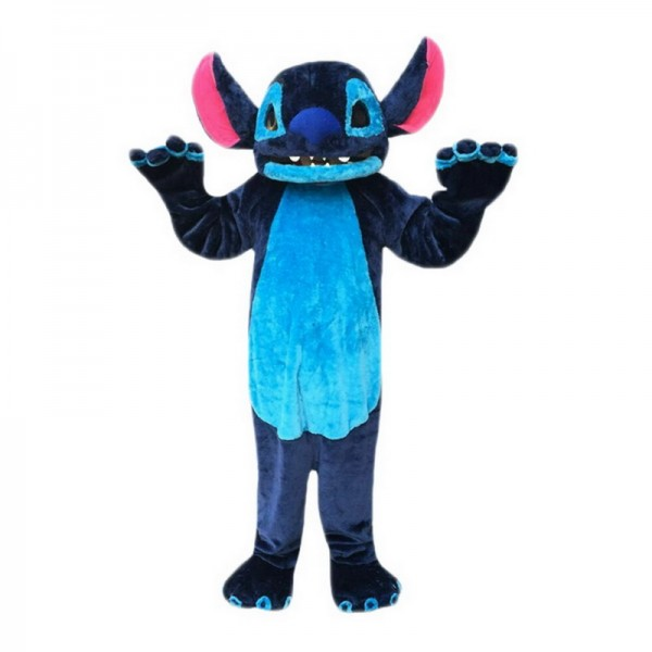 Blue Stitch Mascot Costumes Free Shipping