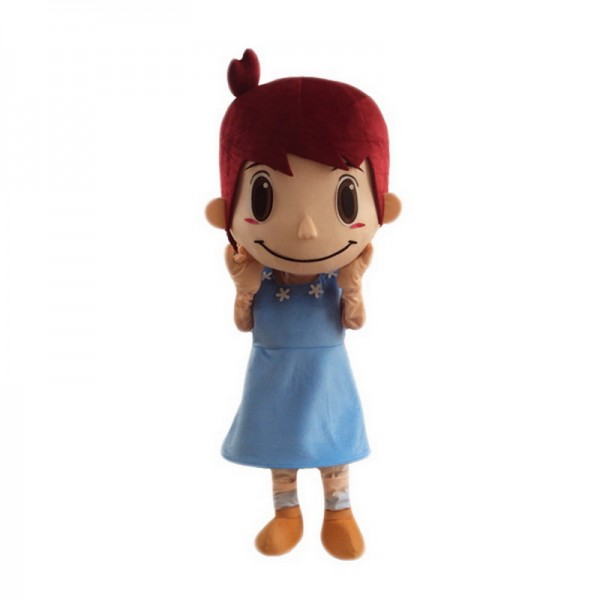 Cute Girl Mascot Costumes Free Shipping