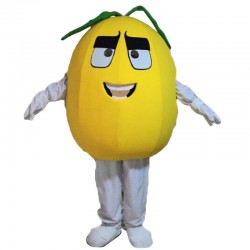 Yellow Pear Mascot Costumes Free Shipping