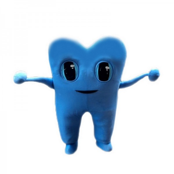 Blue Tooth Mascot Costumes Free Shipping