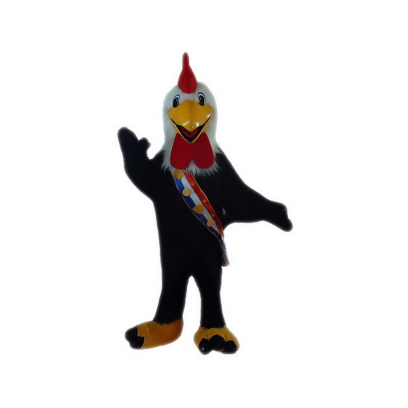 Black Cock Mascot Costumes Free Shipping