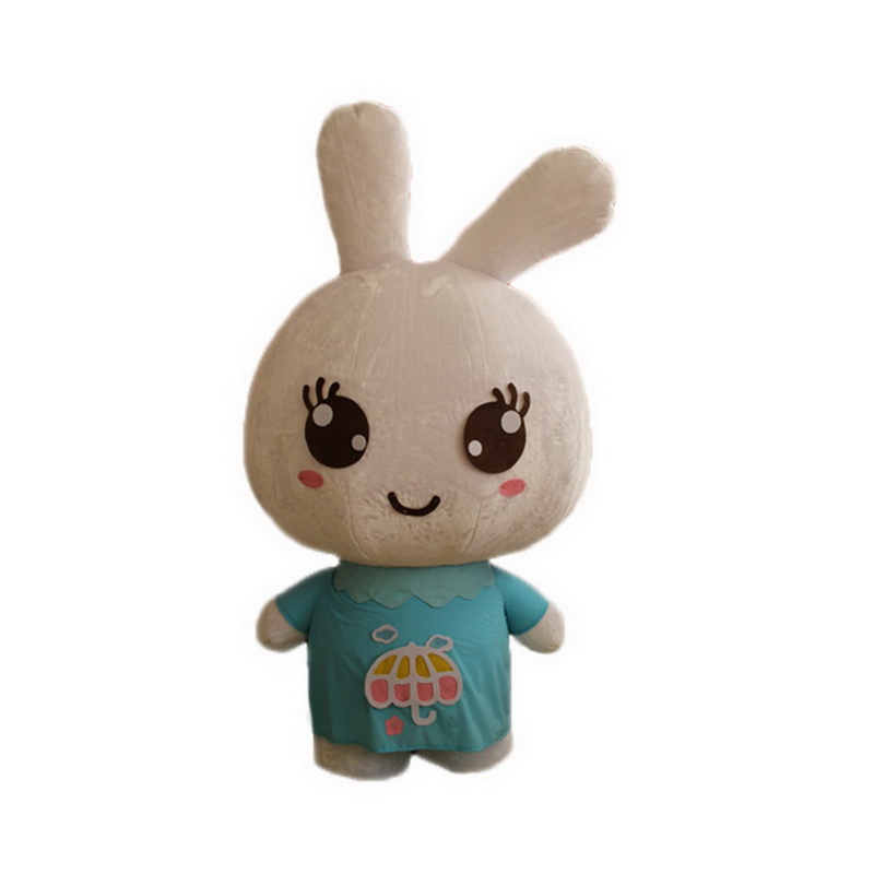 Rabbit Mascot Costumes with Big Head