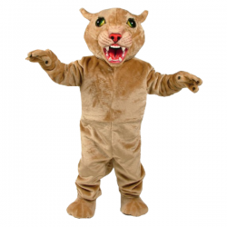 Big Cat Cougar Mascot Costume Free Shipping