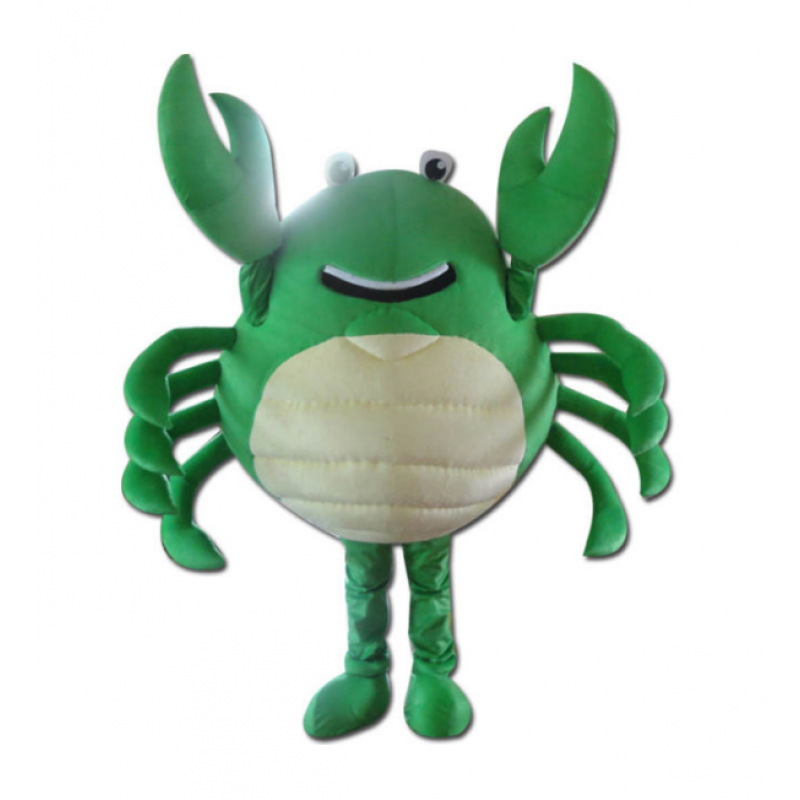 Green Crab Mascot Costumes