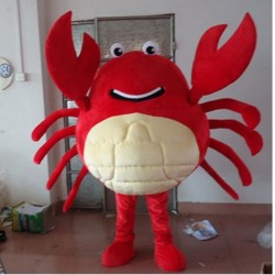 Red Crab Mascot Costumes