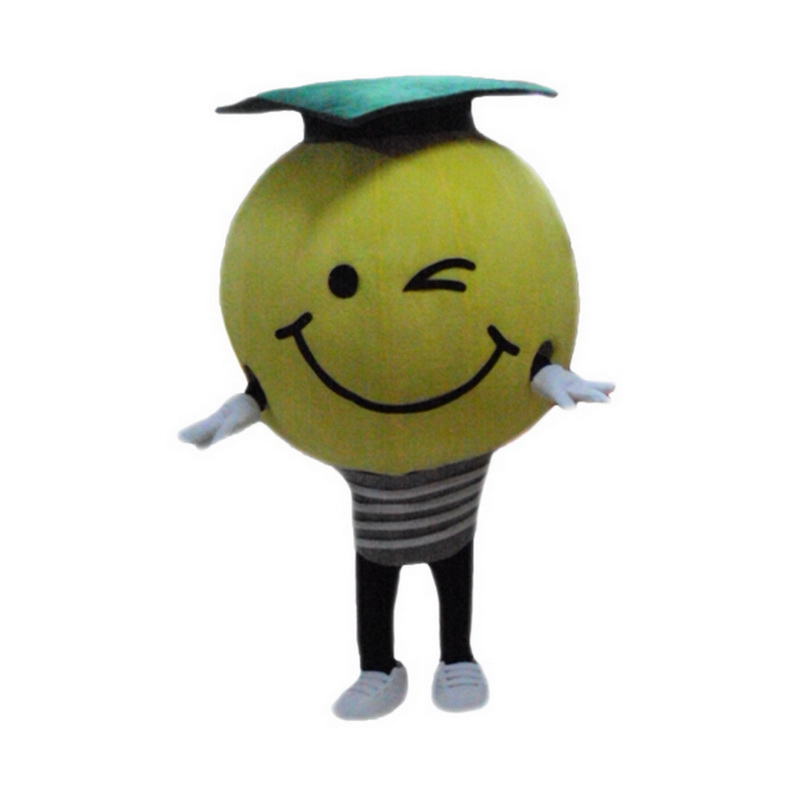 Light Bulb Mascot Costume Free Shipping