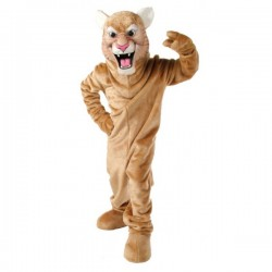 Cougar Mascot Costume Free Shipping