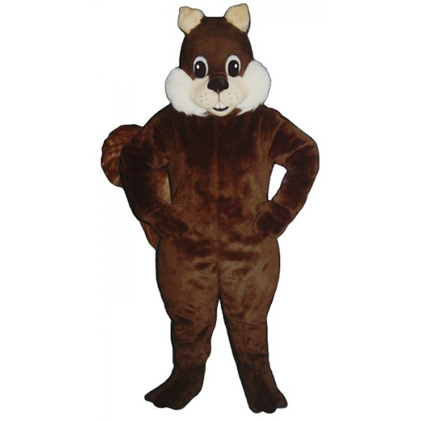 Deep Brown Squirrel Mascot Costume Free Shipping