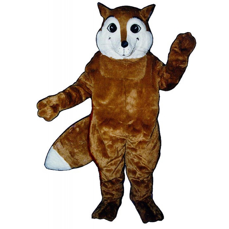 Sly Fox Mascot Costume Free Shipping