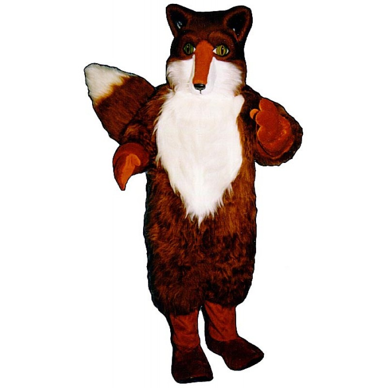 Red Fox Mascot Costume Free Shipping
