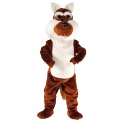 Coyote Mascot Costume Free Shipping