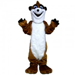 Happy Skunk Mascot Costume Free Shipping