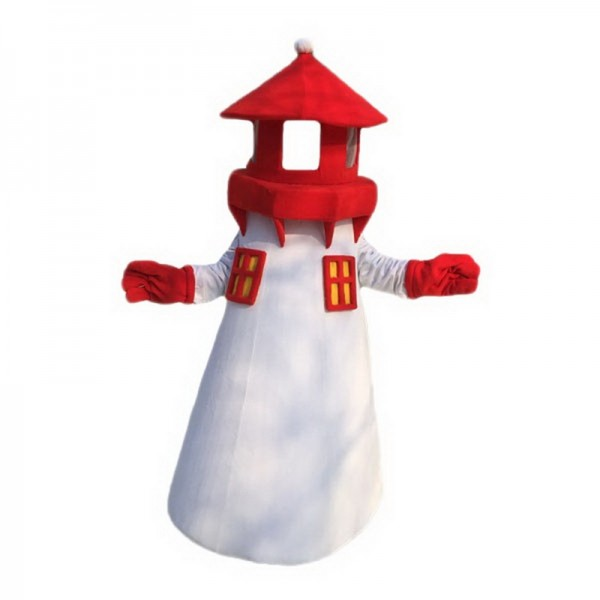Lighthouse Mascot Costume Free Shipping