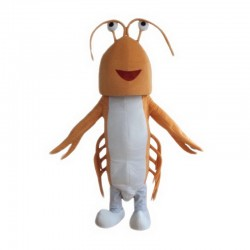 Orange Lobster Mascot Costume Free Shipping