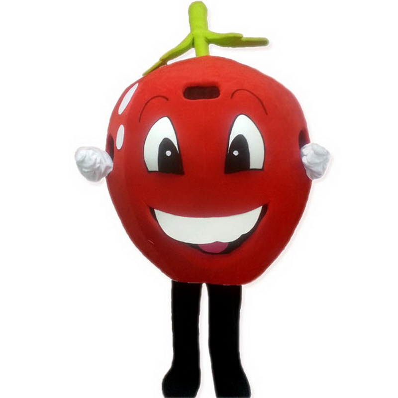 Red Apple Smile Mascot Costume Free Shipping