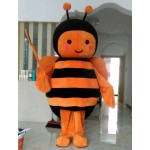 Lovely Bee Mascot Costume Free Shipping