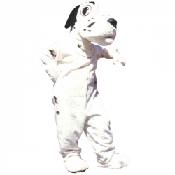 Dalmation Mascot Costume Free Shipping
