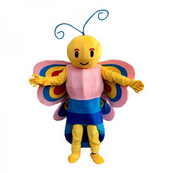 Butterfly Colorful Mascot Costume