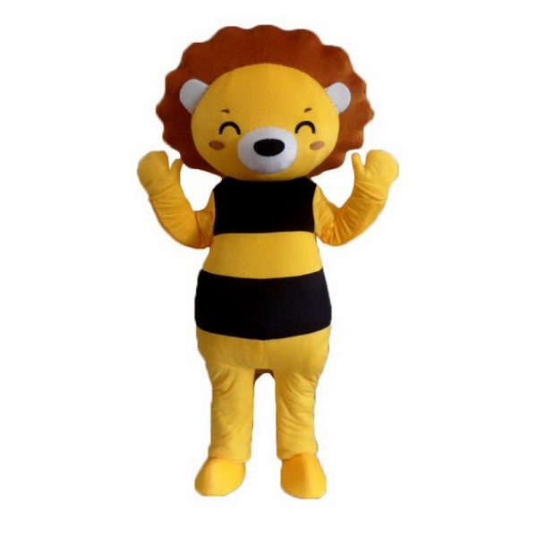 Bee Bear Mascot Costume Free Shipping